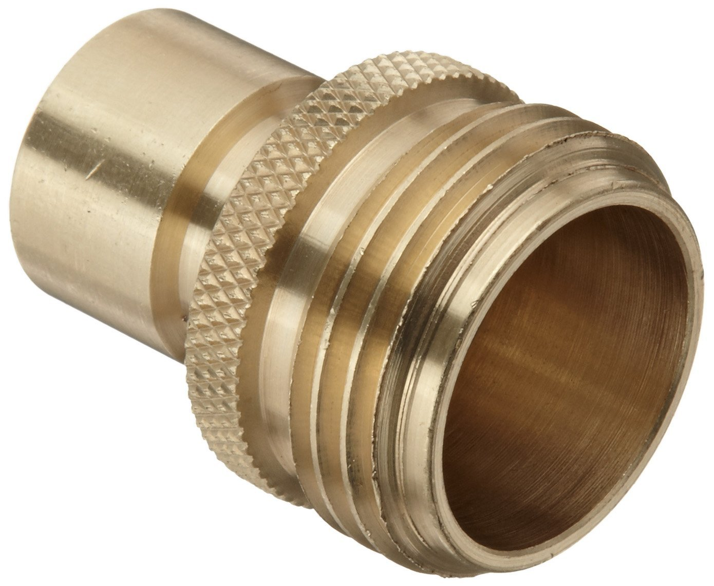 Adapter 5 8 in male garden hose to chicago quick disconnect eagle rock specialties for Male to male garden hose adapter